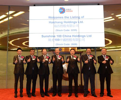 昌控股有限公司香港联合交易所主板挂牌交易图片