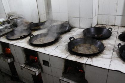 蒙山养心园的厨房图片